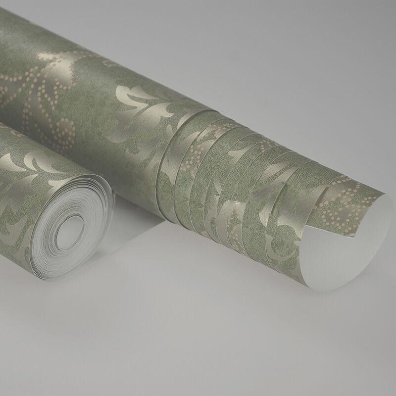 龙冉壁纸(LOREN)美国进口纯纸客厅卧室背景墙纸 波西米亚系列0.53米*10米(1卷) CR-1083