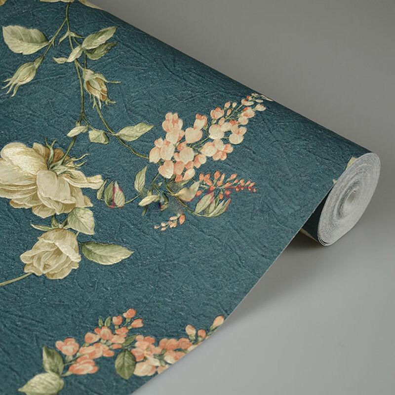 龙冉壁纸(LOREN)无纺纸田园 客厅卧室背景墙纸 米兰系列