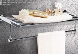 韩国白鸟水槽 双杆毛巾架 浴巾架