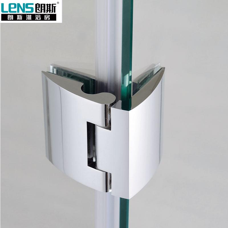 朗斯淋浴房(LENS)天籁A31钻石型钢化玻璃贴防爆膜定制淋浴房整体