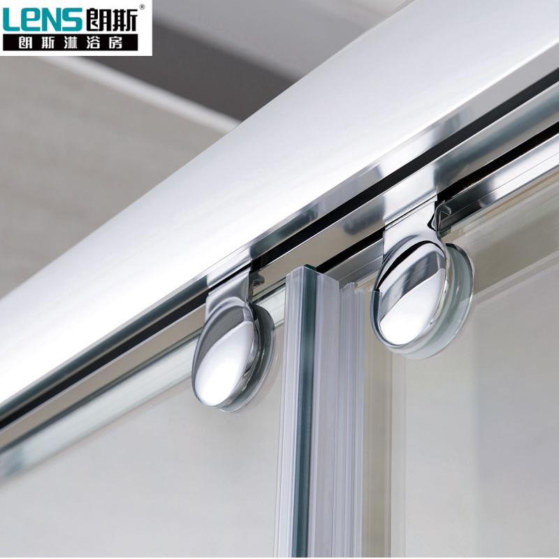 朗斯淋浴房(LENS)屏风凯撒系列移门可定制钢化玻璃