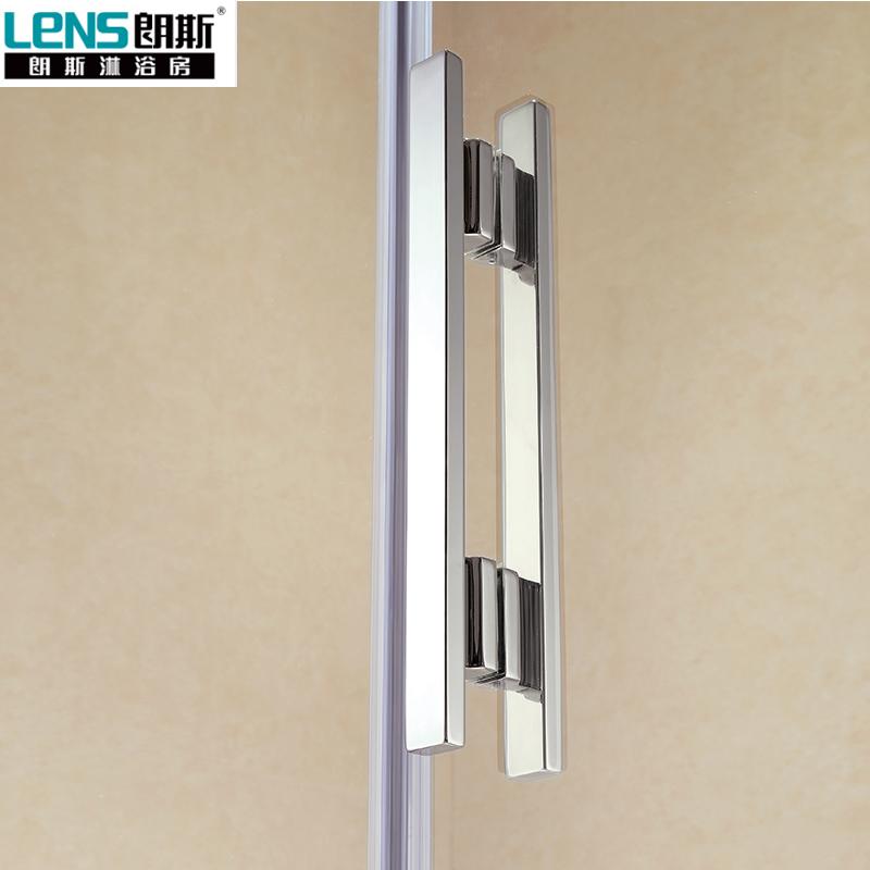 朗斯淋浴房(LENS)定制淋浴房整体蒂娜A31钻石型钢化玻璃隔断防爆膜