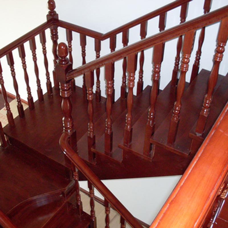 雅诺楼梯钢木  榉木  橡胶木  美国红橡  用于复式 阁楼 别墅室内楼梯(定制)