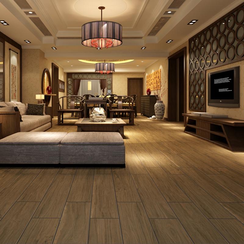 罗曼缔克瓷砖(ROMANTIC CERAMICS)瓷木系列古韵原木RMW9252高档装修陶瓷200X900