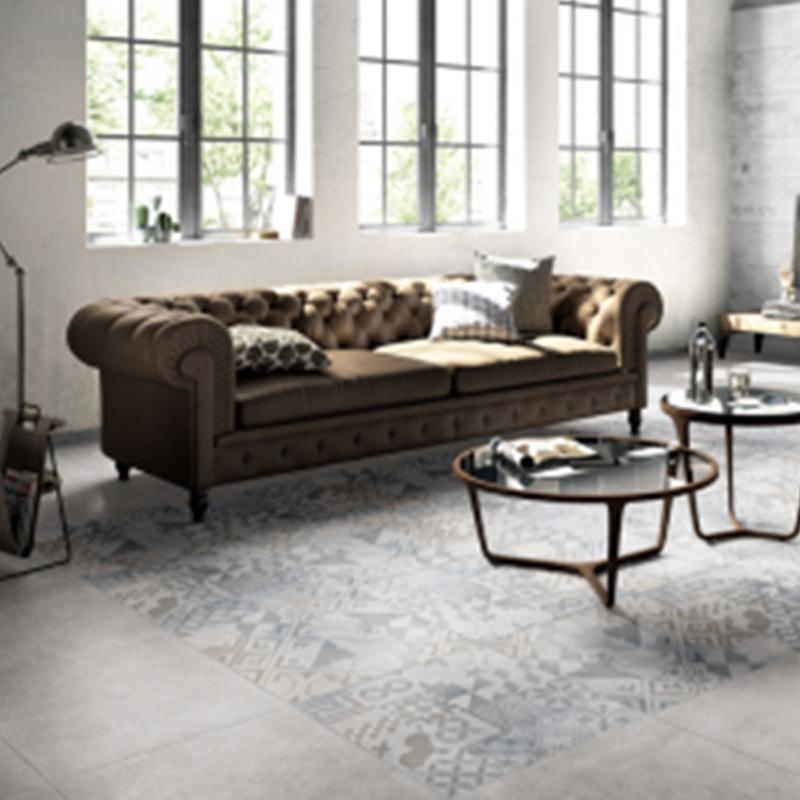 罗曼缔克瓷砖(ROMANTIC CERAMICS)仿古砖系列托斯卡纳RF60201高档装修陶瓷600X600