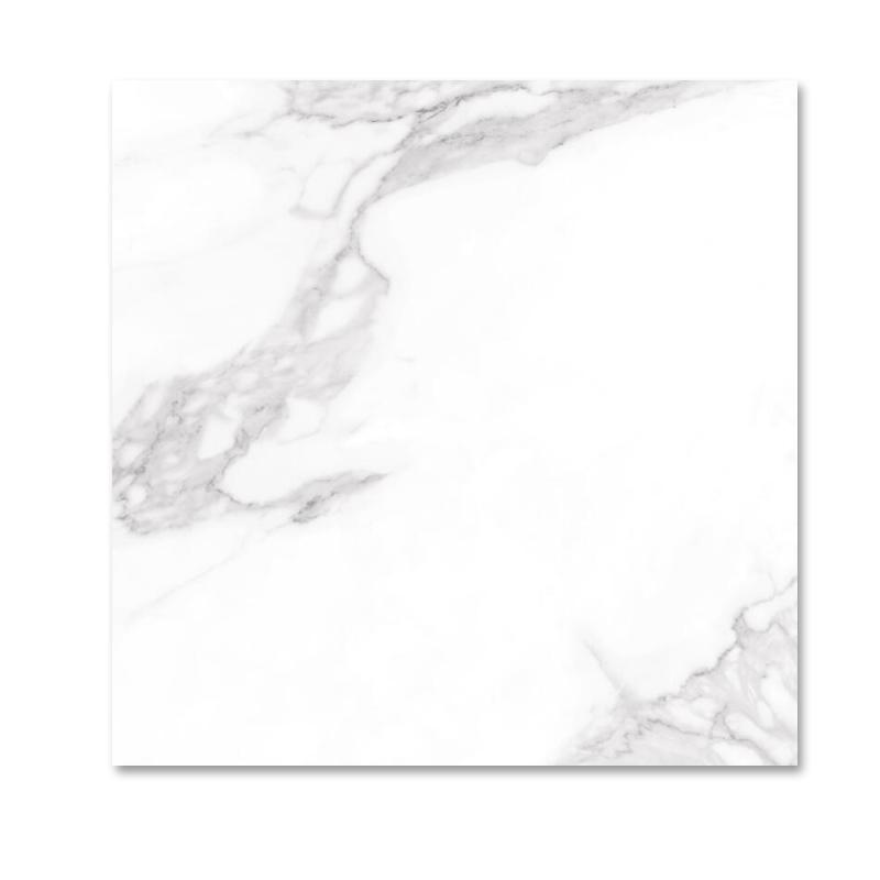 特地瓷磚(TIDIY)仿大理石地磚客廳 雪花白簡約背景墻瓷磚 800x800 負離子瓷磚