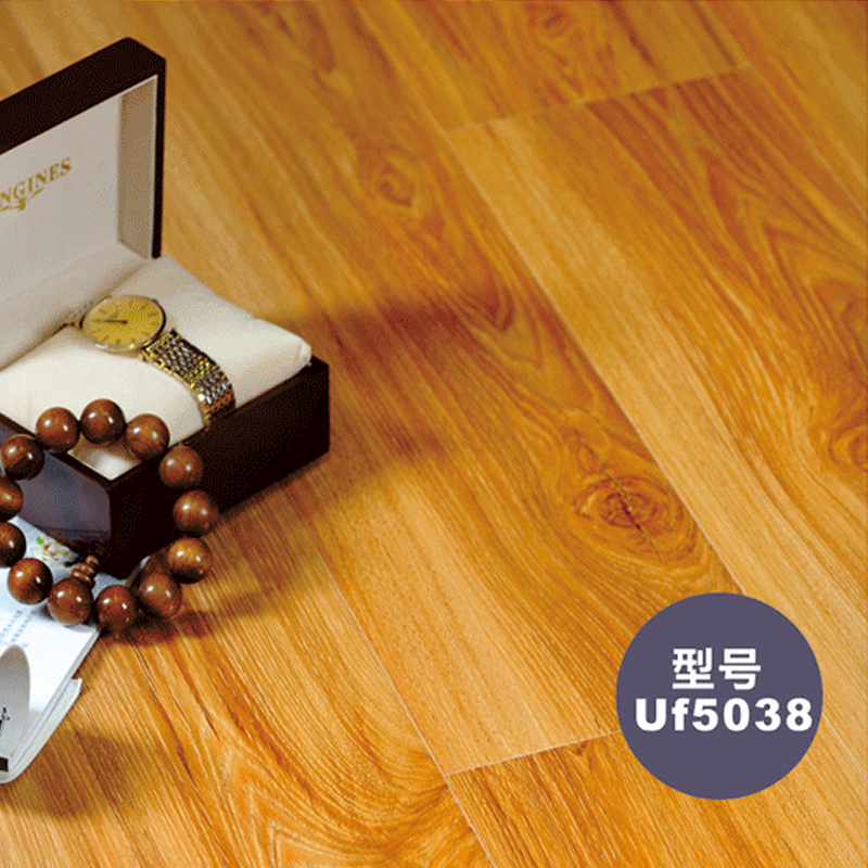 圣羅娜地板 奢香系列  高密度基材 規格:808*147*12mm適宜地熱E0強化木地板包安裝中國地板十大品