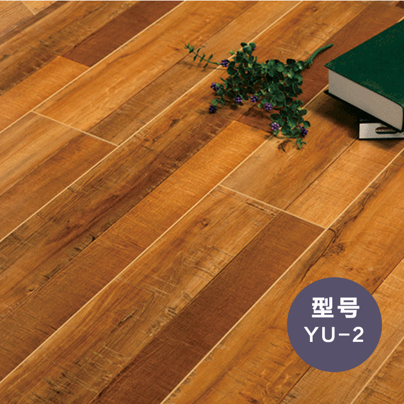 圣羅娜地板 歐洲風尚純原木地板  高密度基材E0級適宜地熱實木鎖扣技術歐盟環保規格:1221*200*12mm