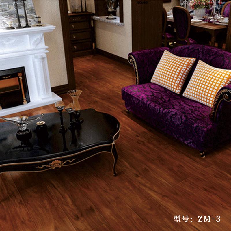 圣羅娜地板 康家系列 高密度基材 規格:1221*148*12mm   強化木地板 中國十大品牌