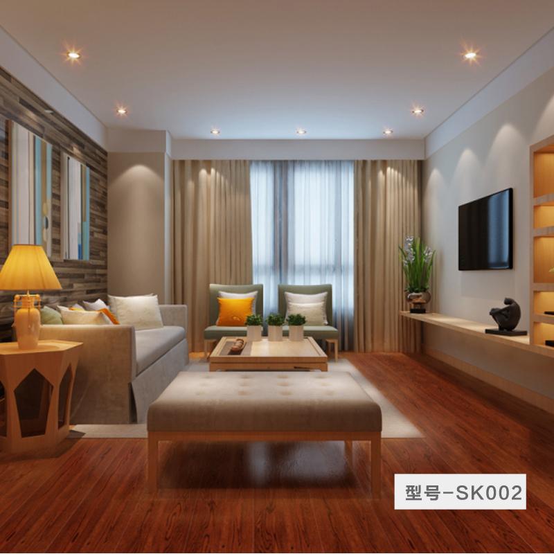 圣罗娜地板 高密度基材  橡木复合实木地板  规格:1210*167*15mm适宜地热实木锁扣技术欧盟环保