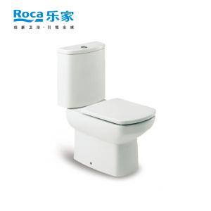 乐家卫浴(ROCA)丹圣连体座厕349517..0 305mm 直冲 冲落式马桶