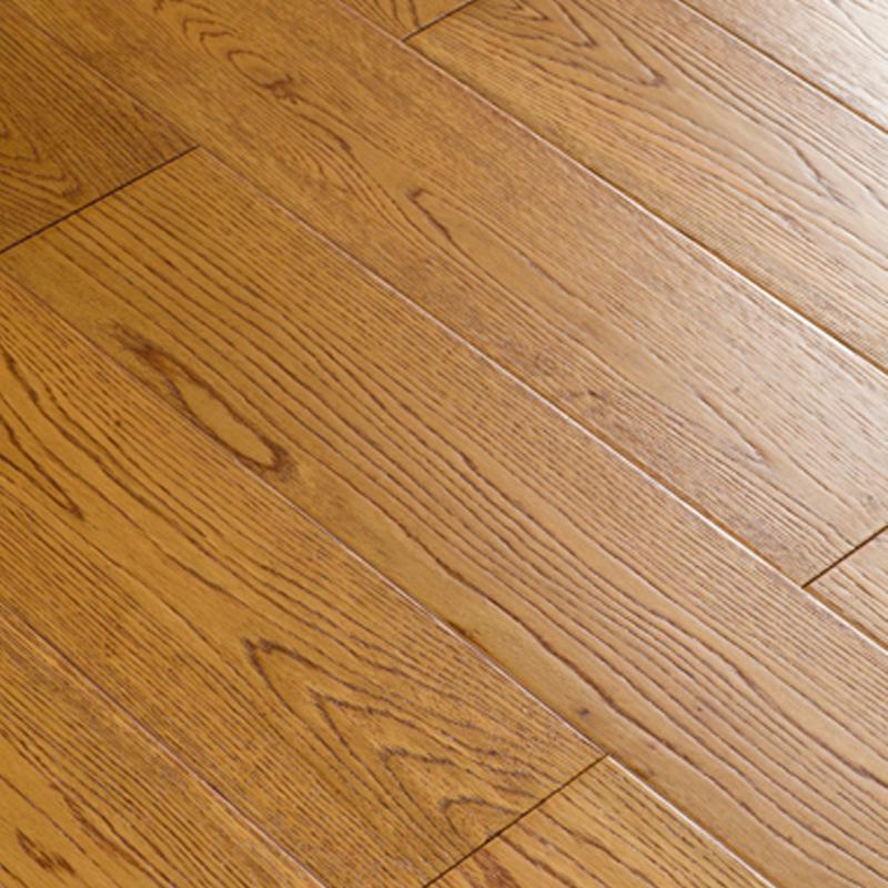 潤邁地板(RUNMAI)個性化定制實木地板橡木浪漫陽光 金碧輝煌