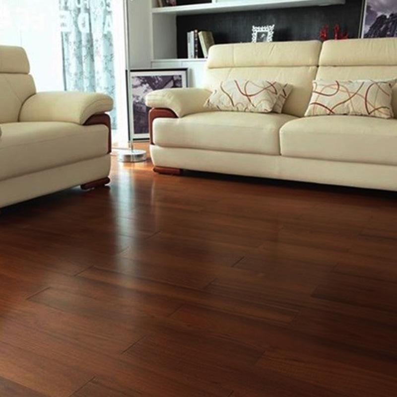 罗兰地板(EUROPA LUOLAN)欧罗巴地板实木多层净醛柚木地板  智能平扣,RV型槽 规格:1210*165*15mm