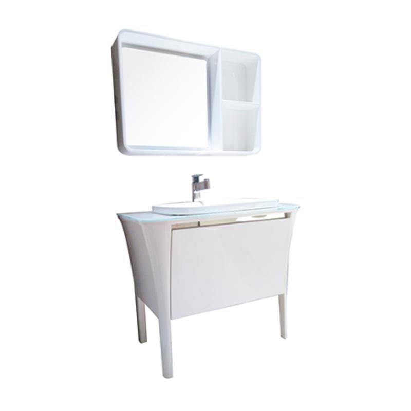 赛唯雅(SAVOIA)1010*545*820(mm) 宜家浴室柜S66333 白 橡木