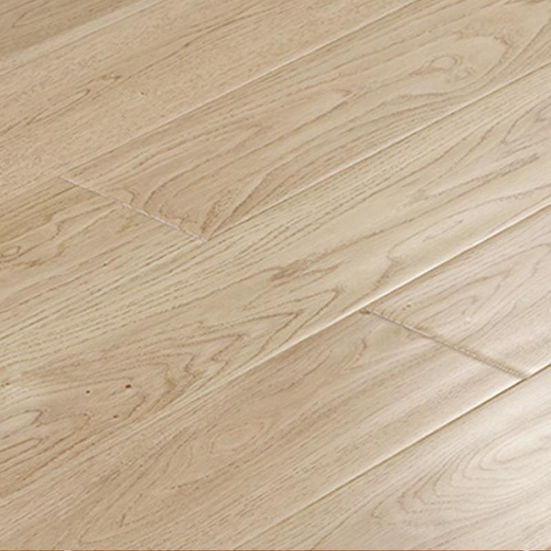 莫干山地板(mgs)客厅橡木实木地板 环保橡木仿古本色18mm地板 原木色