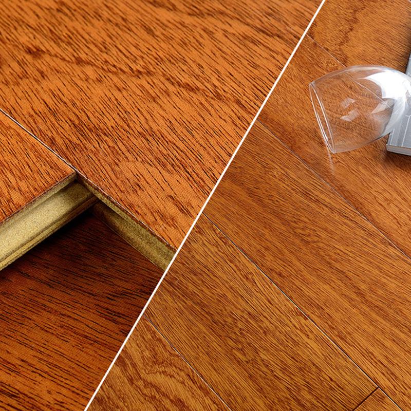 莫干山地板(mgs)实木多层复合地板 桃花芯永恒15mm原木多层实木地热适用