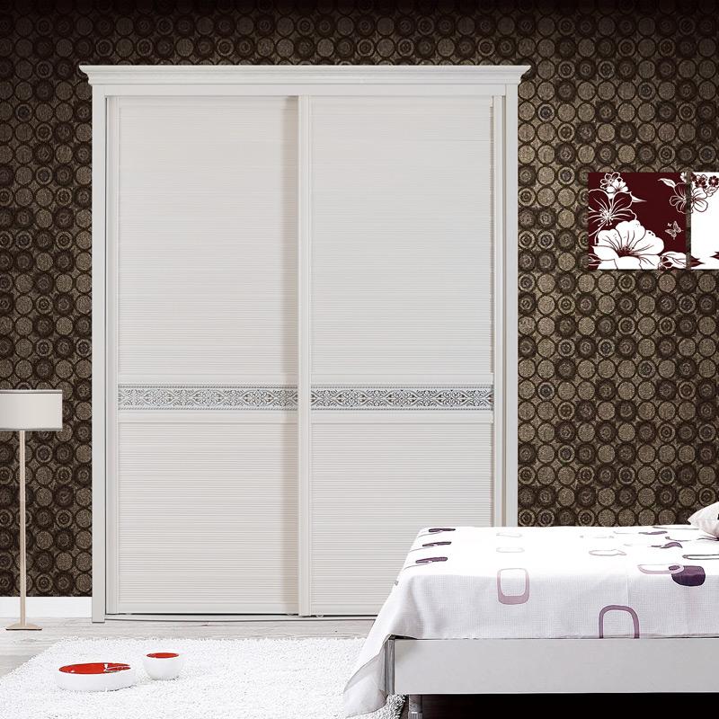卡迪曼(KDM)定制卧室两门移门大衣柜 简约现代推拉门衣柜 非标定制051