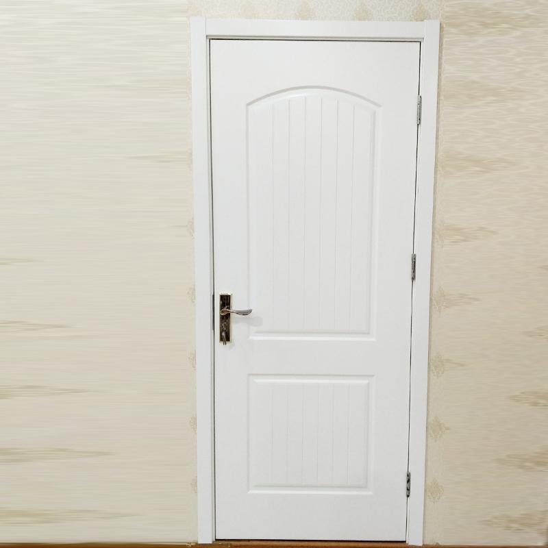 鸿富木门(HF)定制平开门式室内木门 卧室复合烤漆实木木门HF-A016