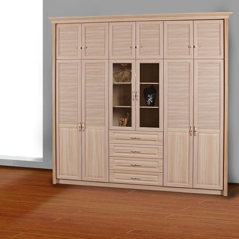 卡迪曼(KDM)移门衣柜 B491美枫木3#平板开门