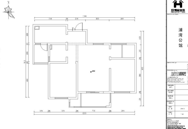 浦灣公館94 — 平層 — 現代簡約
