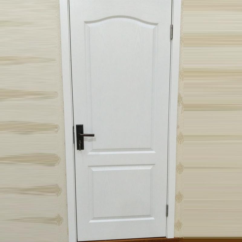 鸿富木门(HF)简约欧式风格静音复合实木门定制 卫生间厨房卧室内烤漆HF-A003套装门