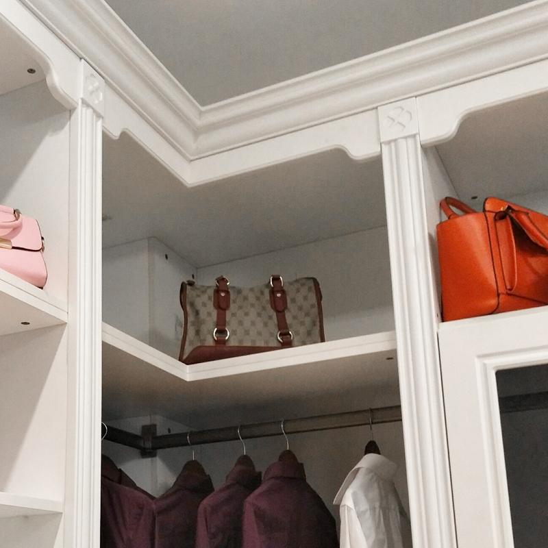 米索设计型家居(MISON) 现代简约 实木颗粒板定制A003走入式衣帽间