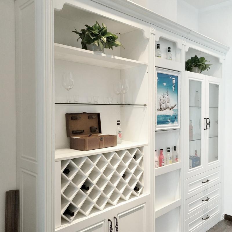 米索设计型家居(MISON) 现代简约实木颗粒板A001定制酒柜