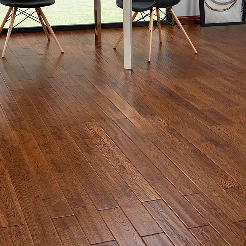 先锋地板(PIONEER)橡木实木18mm厚地板 霞光云纹