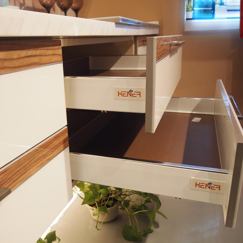 开来橱柜(KENNER)定制整体橱柜 石英石台面耐磨橱柜 环保现代风格橱柜 玛奇朵系列颜色可选