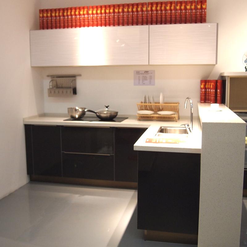 開來櫥柜(KENNER)定制廚房整體櫥柜 環保L型簡約現代櫥柜 全屋定制希爾頓系列顏色可選