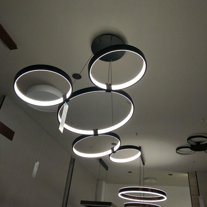 麦格蓝(Maglung)个性黑色圆形吊灯 8099-L简约风尚灯具