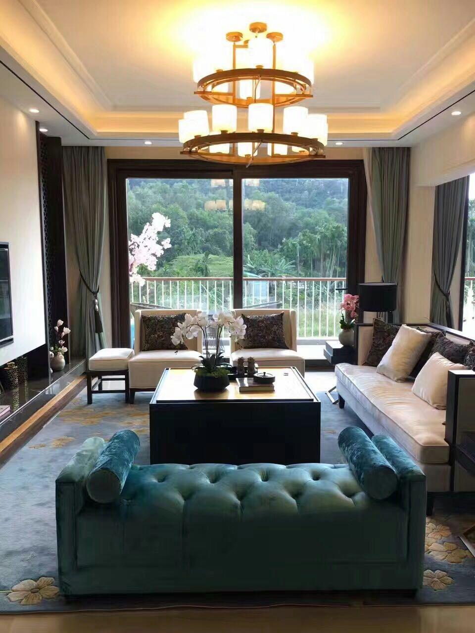 天丽墙纸(DELIGHT)简约现代北欧纯色成品棉麻窗帘布料 卧室客厅定制全遮光办公室
