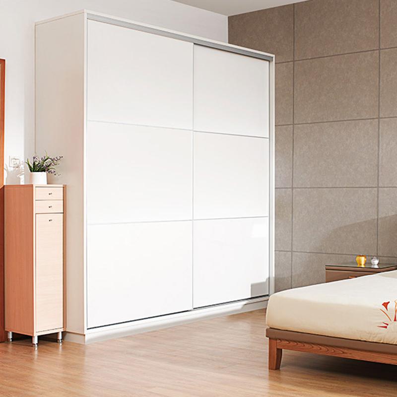 红苹果家具(RED APPLE)时尚简约 现代趟门 推拉双门 衣柜 R921/R923/R925T