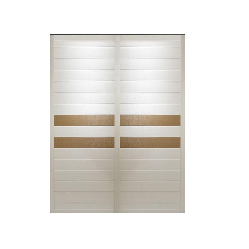 卡洛尼(kaloni)整体衣柜板式衣橱推拉门趟门衣柜现代简约移门铝合金大衣柜A145订做