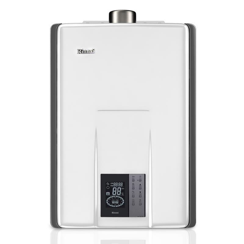林内(Rinnai)燃气热水器(天然气)24升即享系列 智能预约 0冷水 RUS-R24E65ARF(JSQ48-R65A)