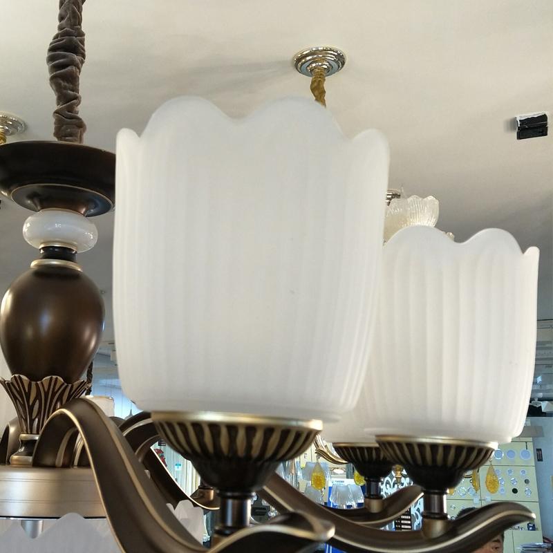 金烁灯饰简欧式灯具餐厅铜田园水晶卧室复古美式客厅吊灯艺术简约大气