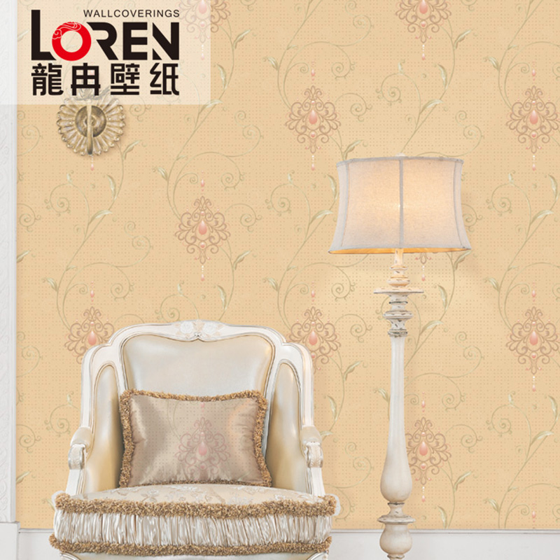 龙冉壁纸(LOREN)现代风格 木浆纸卧室客厅背景墙纸 领袖0.53米*10米(1卷) FA-50705