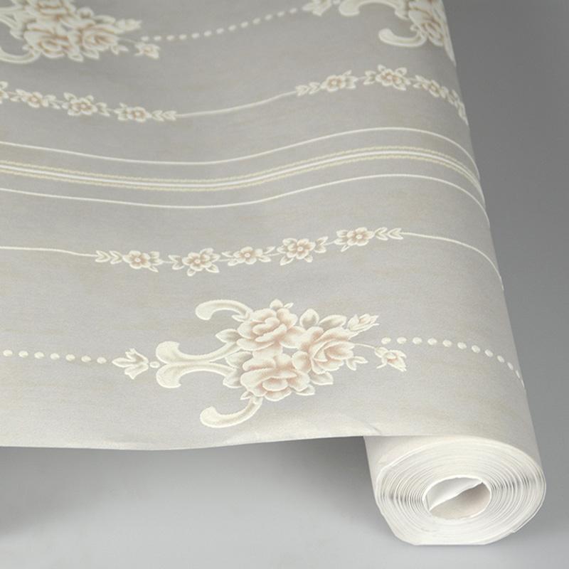 龙冉壁纸(LOREN)品牌直供田园风格 卧室客厅墙纸 空中花园系列0.53米*10米(1卷) FL-20501