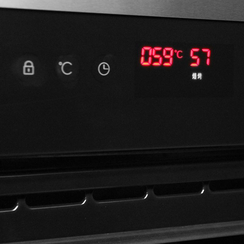 美大集成灶(MEIDA)MDDK-60A家用电烤箱全触控智能嵌入式电烤箱家用烘焙