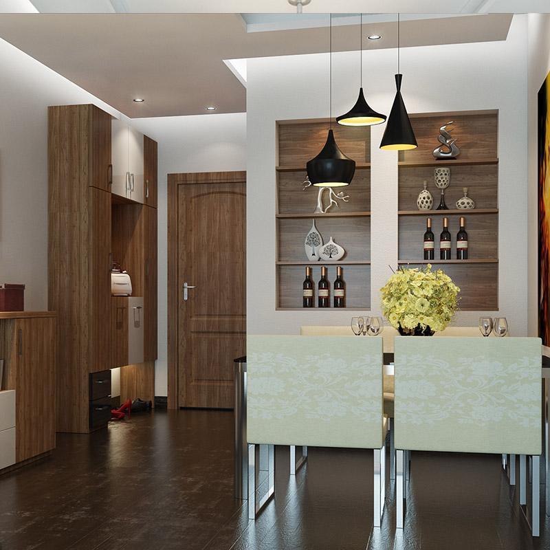 歐派全屋定制客廳空間整體家具 簡約背景電視柜玄關柜酒柜定做