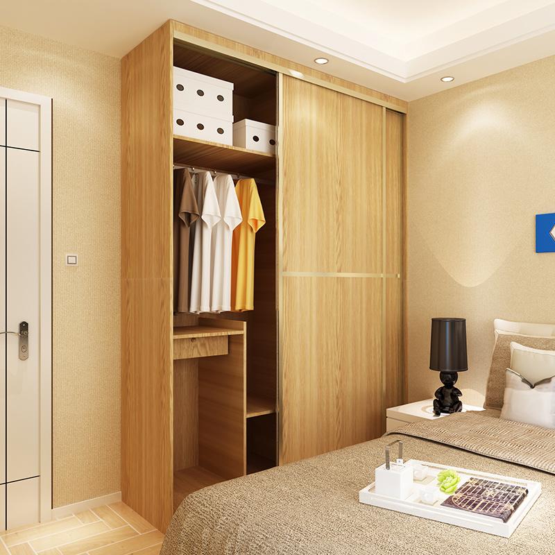 海爾(Haier)整體定制臥室衣帽間 現代簡約衣櫥 多功能收納存儲衣柜 簡約飾面定制款尼諾VV16