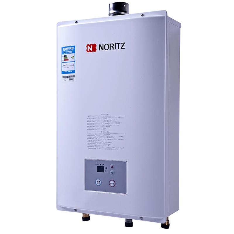 能率(NORITZ)GQ-16B1FE智能恒溫豪華舒適型熱水器 16升 燃氣熱水器(天然氣)