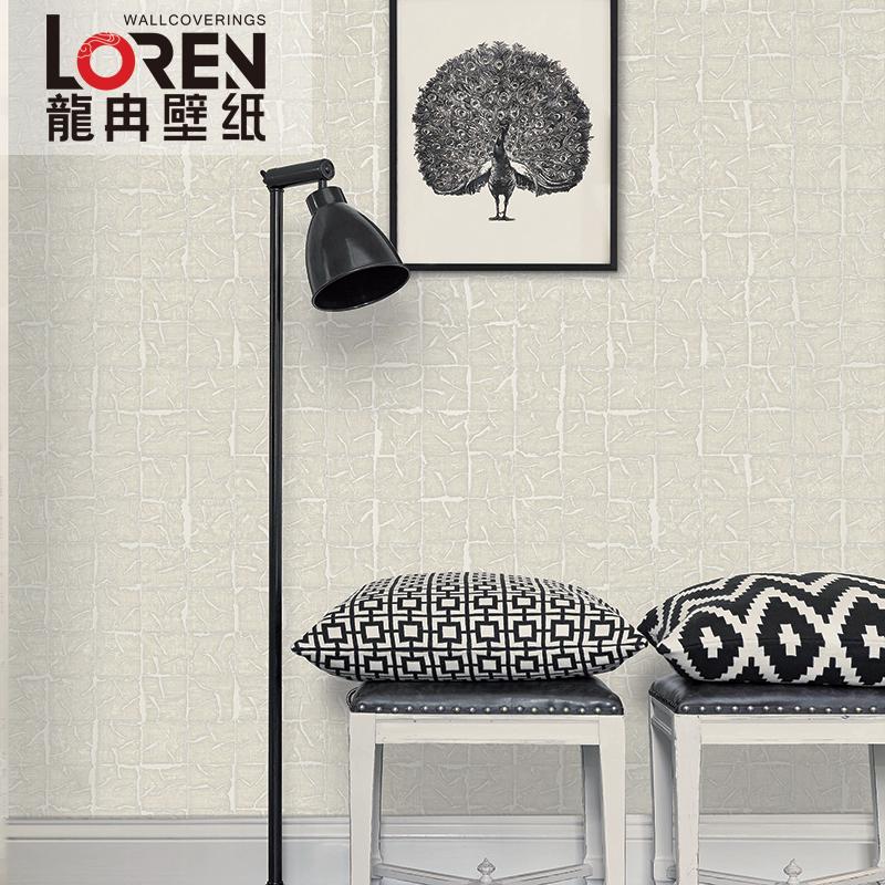 龙冉壁纸(LOREN)无纺纸 楼道客餐厅书房背景墙墙纸 摩天楼0.7米*10米(1卷) WG-1101