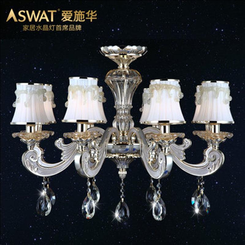 新天利燈飾(Tianli)行云流水北歐簡約客廳燈水晶燈
