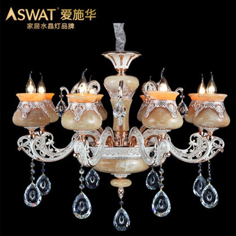 新天利燈飾(Tianli)曠世傾城奢華鋅合金臥室客廳餐廳燈