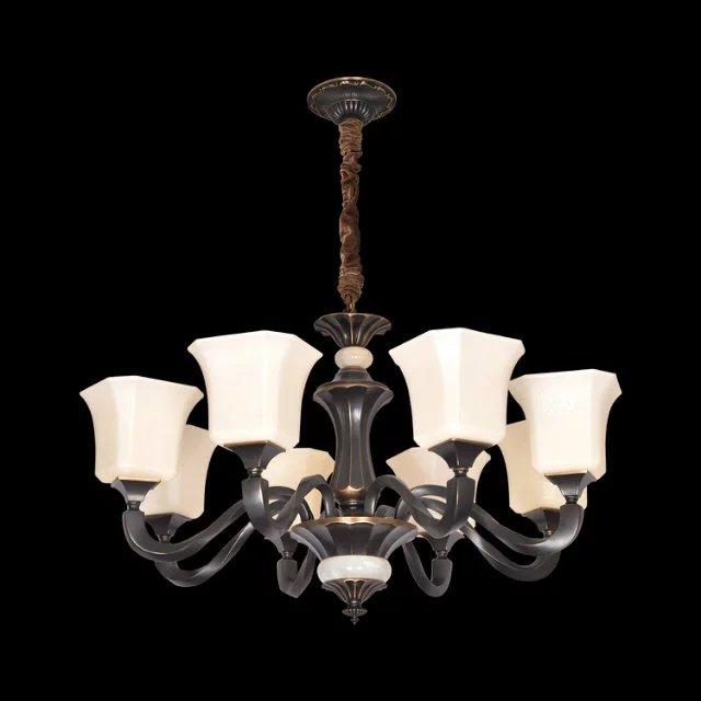 名典燈飾(MD)黑古銅吊燈5058客廳餐廳臥室玄關別墅酒店創意套裝