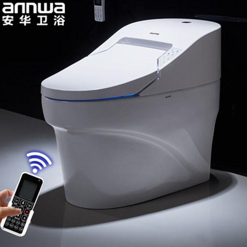 安华卫浴(annwa)aB1380D智能坐便器遥控全自动冲水烘干电动一体智能马桶