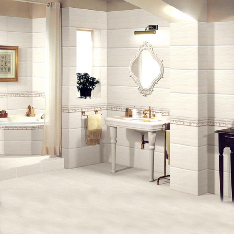 强辉陶瓷(QHTC)62008光面300x600餐厅厨房墙面砖防滑地砖内墙砖瓷片仿木纹
