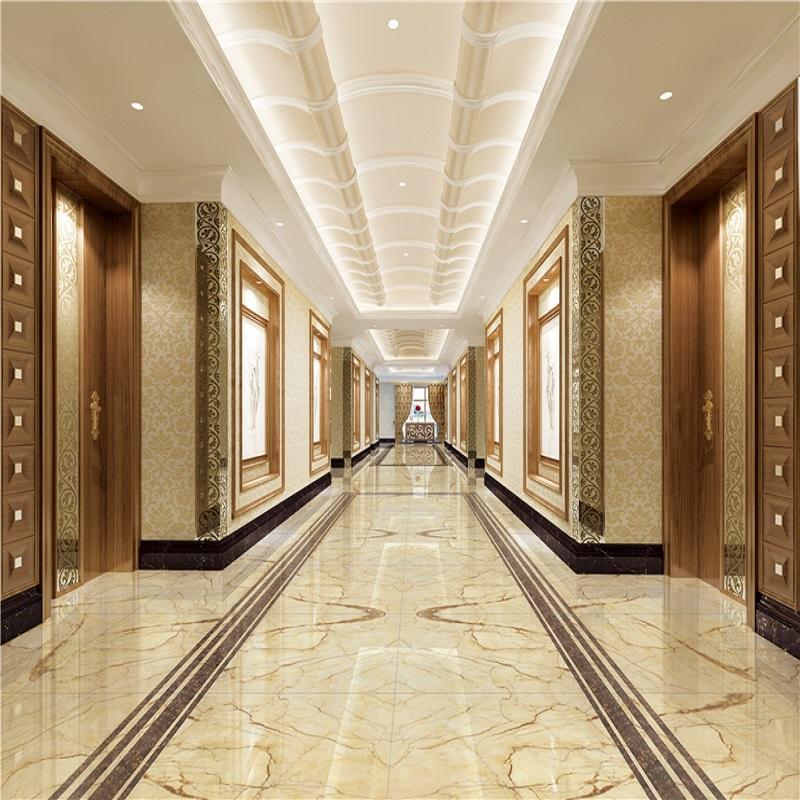 強輝陶瓷(QHTC)索芙特金DLC90006大理石地磚900X900 高檔客廳臥室地磚瓷磚背景墻磚