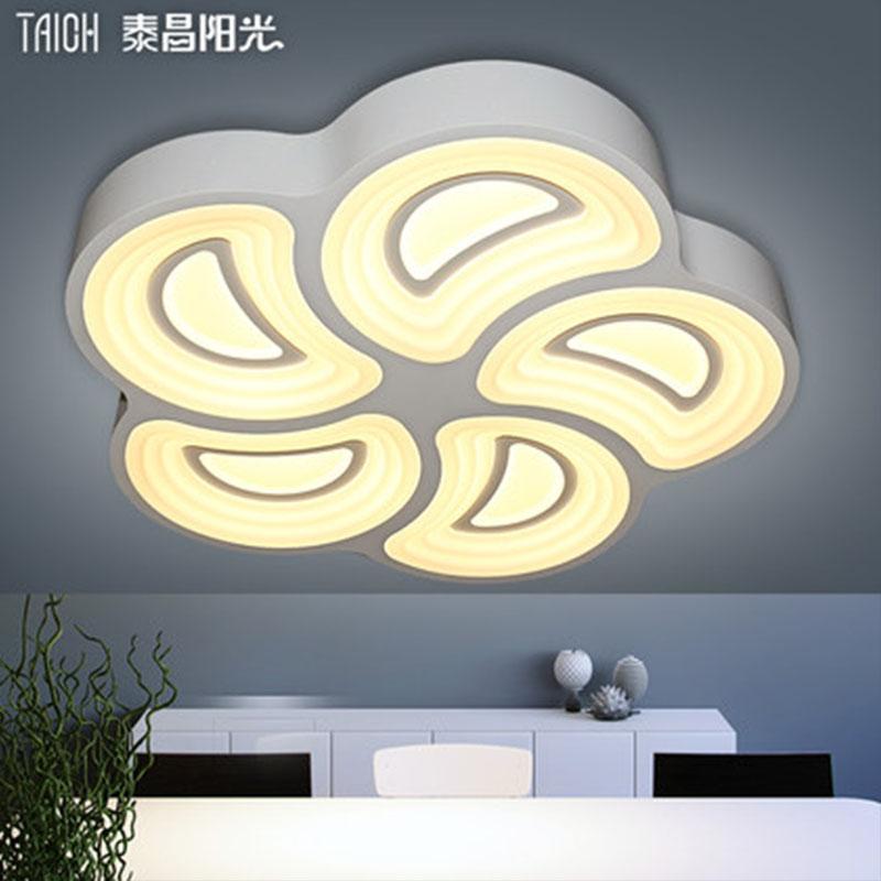 泰昌阳光(TAIOH)led吸顶灯客厅灯具现代简约时尚艺术卧室灯温馨铁艺灯饰